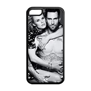 Customize Popular Singer Adam Levine Back Cover Case for iphone 5C Designed by HnW Accessories