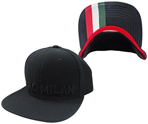 A.C. Milan Italy Adjustable Snapback Hat / Cap by adidas