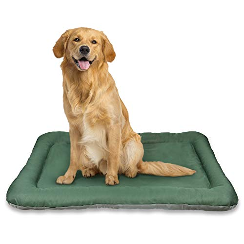 Yitesen Dog Bed Large Crate Mat 40 in Medium Dogs House 100% Washable Soft Mattress Kennel Pads for Dogs, Cats - Lightweight Nap Pad for Dog Kennels and Pet Carriers
