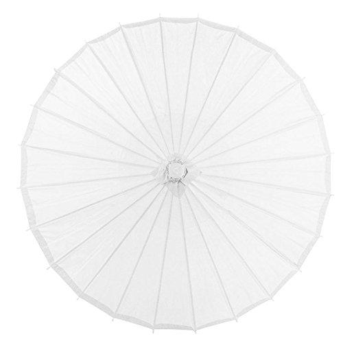 Quasimoon White Parasol Umbrella PaperLanternStore