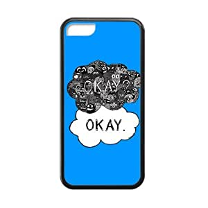 RMGT The Fault in Our Stars Okay? Okay Printed Cell Phone Case for Iphone 6 plus (5.5)