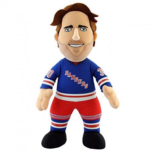 NHL New York Rangers Henrik Lundqvist Player Plush Doll, 6.5-Inch x 3.5-Inch x 10-Inch, Blue ()