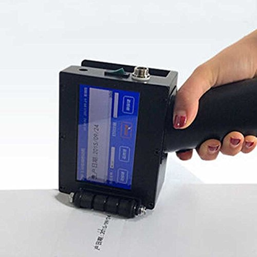 Premium Quality Handheld Intelligent Inkjet Printer Ink Date Coder Coding machine LED Screen Display For Trademark,Logo,Graphic,Date Coder