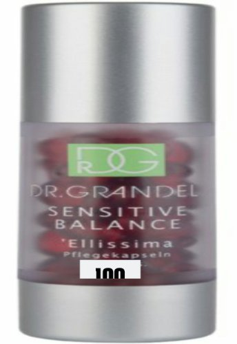 Dr. Grandel Sensitive Balance Ellissima, 40 Capsules Best Hyaluronic Acid Serum with Peptides. Plumps Wrinkles, Smooths Complexion & Hydrates Skin