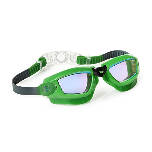 [Swimming Goggles For Boys - Galaxy Kids Swim Goggles By Bling2o (Galactic Green)] (Red Baron Baby Costume)