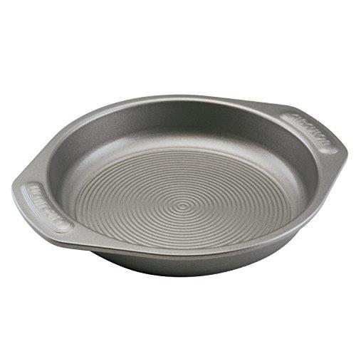Circulon Nonstick Bakeware 9-Inch Round Cake Pan, Gray ()