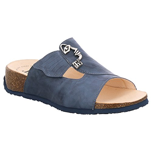 Think! Womens Mizzi 82351 Jeans Leather Sandals 38 ()