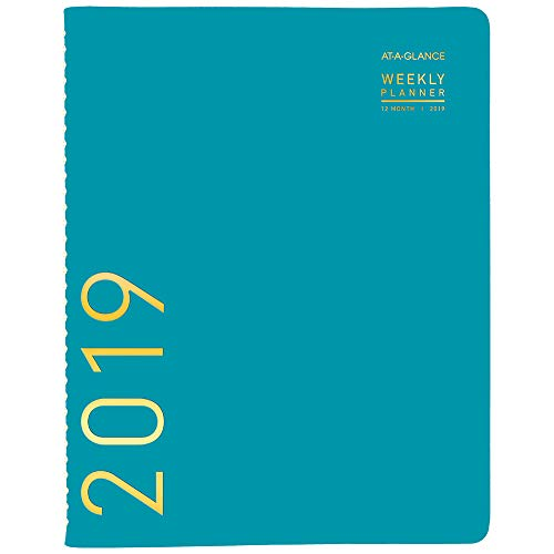 AT-A-GLANCE 2019 Weekly & Monthly Planner / Appointment Book, 8-1/4
