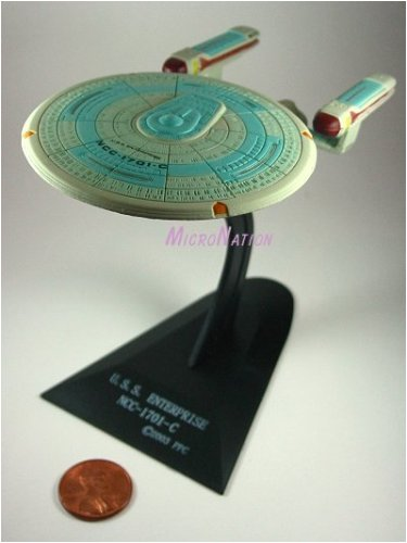 U.S.S. Enterprise NCC-1701-C Furuta Star Trek Federation Ships & Alien Ships Collection 2 Miniature Display Model