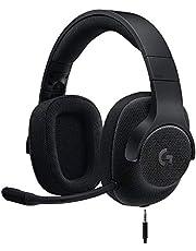 Logitech Wired Surround Gaming Headset G433, Black
