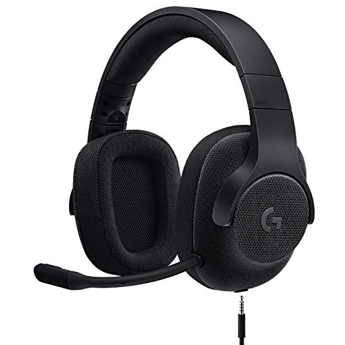 Logitech G433 7.1 Wired Gaming Headset with DTS Headphone: X 7.1 Surround for PC, PS4, PS4 PRO, Xbox...