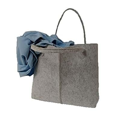 Amazon.com: Simplemente Fashion bolso de mano de fieltro ...