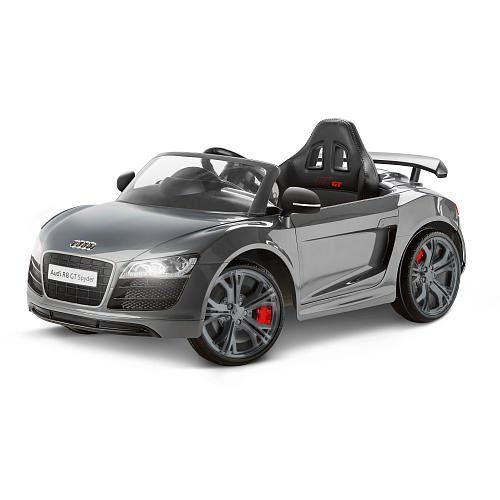 Avigo Audi R8 GT Spyder 6 Volt Powered Ride On - Grey by Avigo