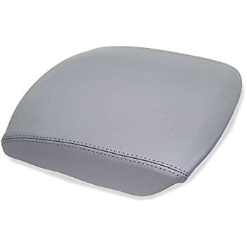 Amazon Com Gray Leather Front Door Panels Armrest Covers