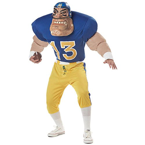 Gridiron Goliath Adult Costume - Large (Adult Football Halloween Costumes)