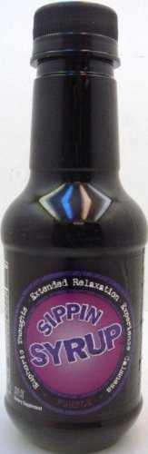 Sippin Syrup Purple Relaxation Beverage 20 Ounce - 12 Pack ()