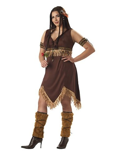 California Costumes Women's  Indian Princess Costume – 3XL (20-22), Brown