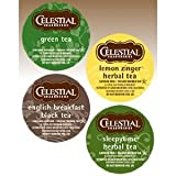Celestial Seasonings Tea Sampler Keurig Single-Serve K-Cup Pods Variety Pack, 22 Count