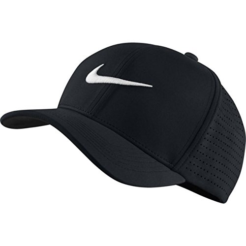 0fe807f3397b97 Nike Men's Classic 99 Fitted Golf Hat, Black/Anthracite/White, ...