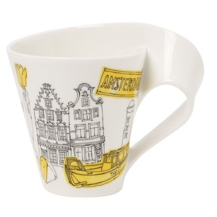 Villeroy & Boch New Wave Caffe Cities Of The World Mug - Amsterdam
