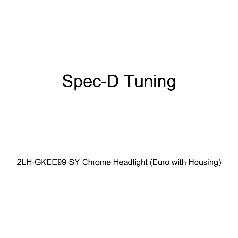 Spec-D Tuning 2LH-GKEE99-SY Chrome Headlight Euro With Housing