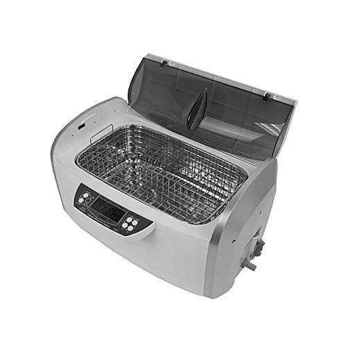 ANGEL POS cd4860 300W 6 Liter 1.58 Gallon Ultrasonic Cleaner with Heater and Timer and Stainless Steel Basket ()