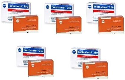 5 X BIOSTEROL 180CAP + 5 X TESTOSTEROL 150CAP MEGABOL AUMENTA TESTOSTERONA PRO-HORMONAL