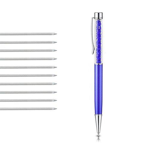 D1 Swarovski Crystal Ballpoint Pen Refills Black /& Blue Ink Pen 1 10 5 20