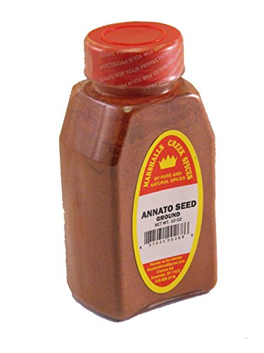 Marshalls Creek Spices New Size Seasoning, Annatto Seed Ground, 10 Ounce
