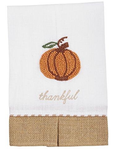 Mud Pie Thankful Pumpkin Towel