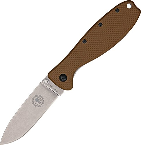 Blue Ridge Knives Zancudo Coyote Brown/Stonewash Framelock Folder