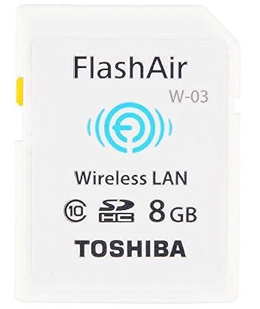 Toshiba W-03 FlashAir Card Configuration Drivers PC