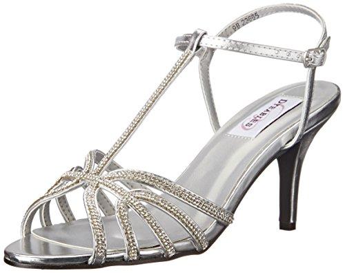 Silver Lexi Inc Metallic Dyeables Womens Sandal Dress qEdaXT