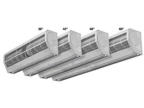 Air Door and Air Curtain - 2 Speeds - 72 in. width - Single Phase - Voltage 110-120 - Stainless Steel by Strip-Curtains.com