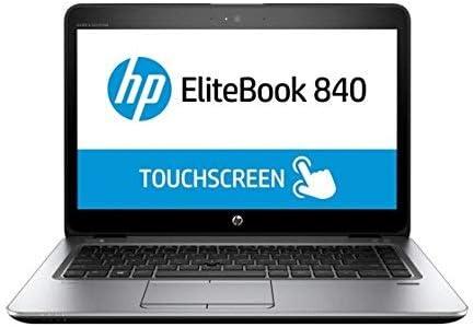 "HP EliteBook 840 G3 14"" FHD Touchscreen Display - Intel Core i5-6300U 2.4GHz - 16GB DDR4 RAM - 256GB SSD - Webcam - USB-C - Windows 10 Pro 64bit (Renewed) | Amazon"