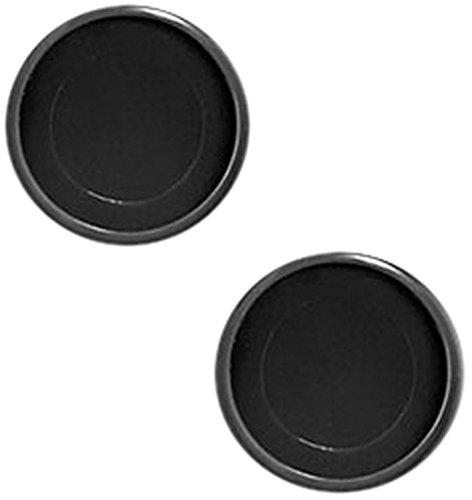 Levenger Circa Discs Set of 22, 1-inch, Black (ADS10015 BK)