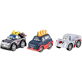 Cars Micro Drifters Kuboto, Yokoza and Shu Todoroki Vehicle, 3-Pack