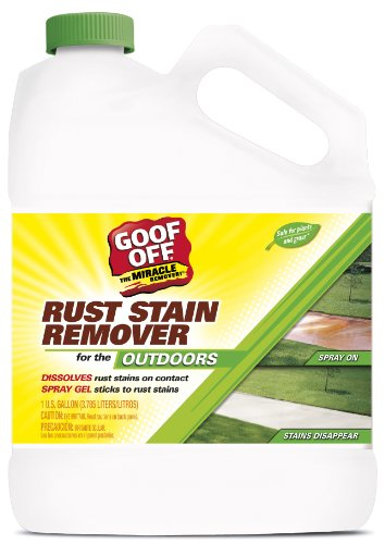 (RustAid GSX00101 Goof, 1 Gallon GAL Rust Stain Remover,)