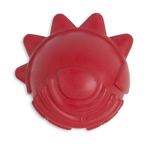 Petmate Dogzilla Spike Ball Toy, Red
