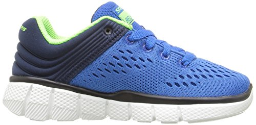 Skechers Equalizer 2.0-Post Season, Zapatillas para Niños Azul (Rybl)