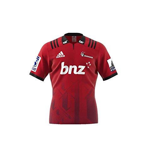 adidas Cru H Jsy SS - Camiseta 1ª Equipación Crusaders, Hombre, Rojo( Rojo