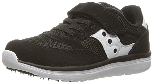 Saucony Baby Jazz Lite Sneaker (Toddler/Little Kid/Big Kid), Black, 11.5 W US Little Kid (Best Black Friday Deals For Sneakers)