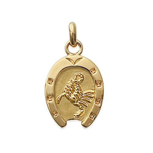 ISADY - Zodia Gold Scorpion - Pendentif - Plaqué Or 750/000 (18 carats) - Zodiaque - Horoscope - Gravure Offerte - Chaîne incluse - Longueur 40 cm
