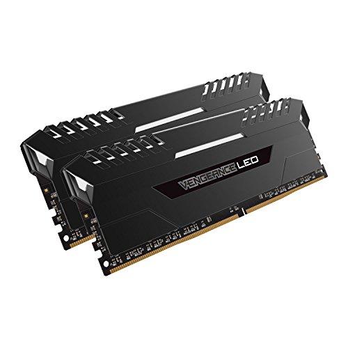 Corsair CMU16GX4M2A2666C16 Vengeance for DDR4 Systems 16GB, 2 x 8GB, DDR4 2666, White LED