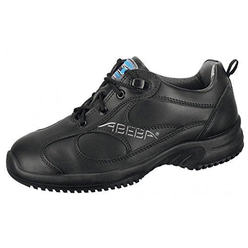 """Abeba 31751-46 talla 46"""" zapato seguridad ESD-uni6 pulgada bajo - negro"""