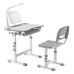 Escritorio para niños ergonómica mesa inclinable silla de