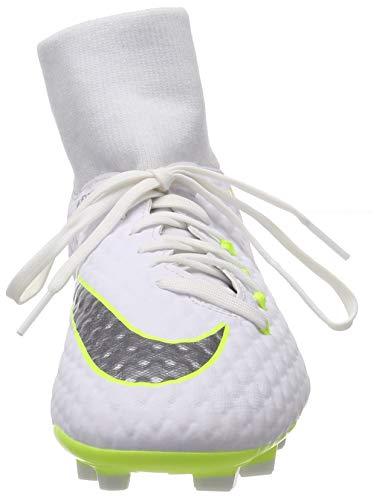 Uomo Superfly Bianco Calcio Da Mercurial chrome Academy white Scarpe Mg ch Vi 107 volt Nike 8H5wq5