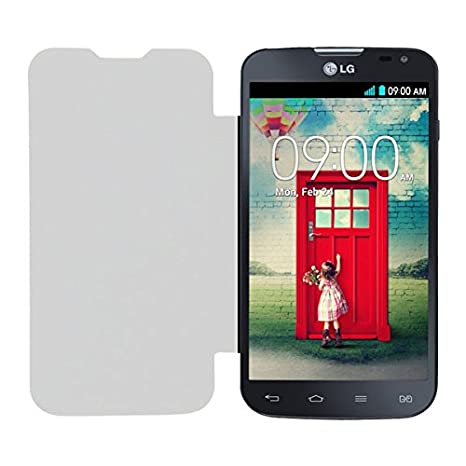 new products f35fa c59b0 Acm Leather Diary Folio Flip Flap Case for Lg L90 Dual: Amazon.in ...