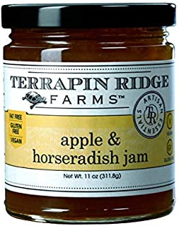 product image for Apple and Horseradish Jam by Terrapin Ridge Farms – One 11 oz Jar
