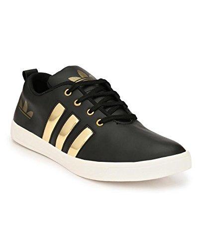 Casual snekers Shoes(Golden/Black